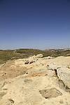 Samaria, a wine press from the Roman Byzantine period in Tel Shiloh