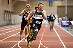 NAPERVILLE, IL - MARCH 11:  A.J. Digby of Mount Vernon runs in the 400 meter dash during the Division III Men's and Women's Indoor Track and Field Championship held at the Res/Rec Center on the North Central College campus on March 11, 2017 in Naperville, Illinois. (Photo by Steve Woltmann/NCAA Photos via Getty Images)