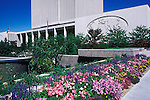 Utah, Salt Lake City, LDS Church Office..Photo # utsalt608.  Photo copyright Lee Foster.  .