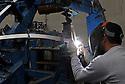 11/10/11 - COURNON - PUY DE DOME - FRANCE - SLICOM AERONAUTIQUE. Sous-traitant dans l industriue de l aeronautique pour Eurocopter et EADS - Photo Jerome CHABANNE