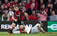 Ryan Fraser of AFC Bournemouth during the Premier League match between Bournemouth and Manchester United at the Goldsands Stadium, Bournemouth, England on 18 April 2018. Photo by Andy Rowland.