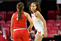 College Park, MD - March 23, 2019: Maryland Terrapins forward Shakira Austin (1) during first round action of game between Radford and Maryland at Xfinity Center in College Park, MD. Maryland defeated Radford 73-51. (Photo by Phil Peters/Media Images International)
