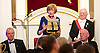 TheCityUK<br /> Annual Dinner <br /> 4th November 2014 <br /> at The Mansion House, London, Great Britain <br /> <br /> <br /> <br /> The Rt Hon the Lord Mayor <br /> Alderman Fiona Woolf CBE <br /> <br /> <br /> <br /> <br /> <br /> Photograph by Elliott Franks <br /> Image licensed to Elliott Franks Photography Services