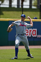 April 11th 2010: Luke Sommer of the Daytona Cubs, the Florida State League High-A affiliate of the Chicago Cubs. In a game against the of the  Brevard County Manatees, the Florida State League High-A affiliate of the Milwaukee Brewers at Space Coast Stadium in Viera, FL (Photo By Scott Jontes/Four Seam Images)