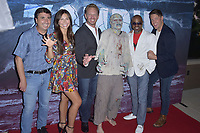 Anthony C. Ferrante, Tatum Chiniquy, Ian Ziering, Shelton Jolivette und Lincoln Bevers at the premiere of SyFy TV-Film Zombie Tidal Wave at the Garland Hotel in Los Angeles, California August 12, 2019. Credit: Action Press/MediaPunch ***FOR USA ONLY***