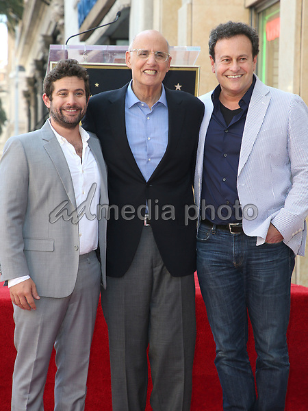 08 August 2017 - Hollywood, California - Joe Lewis, Jeffrey Tambor, Mitchell Hurwitz. Jeffrey Tambor Honored With A Star On The Hollywood Walk Of Fame. Photo Credit: F. Sadou/AdMedia