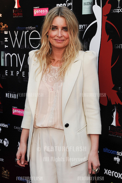 Emma Atkins arriving for the launch of The Wreck My Dress Experience, Worsley, Manchester. 02/05/2013 Picture by: Steve Vas / Featureflash