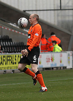 Willo Flood in the St Mirren v Dundee United Clydesdale Bank Scottish Premier League match played at St Mirren Park, Paisley on 27.10.12.