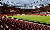 General view of the Stadium during the Carabao Cup match between Arsenal and Norwich City at the Emirates Stadium, London, England on 24 October 2017. Photo by Carlton Myrie.