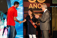 Rudy Fernandez during the 80th Aniversary of the National Basketball Team at Melia Castilla Hotel, Spain, September 01, 2015. <br /> (ALTERPHOTOS/BorjaB.Hojas) / NortePhoto.Com