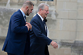 Former United States Vice President Al Gore arrives for the funeral service for late United States Senator John McCain (Republican of Arizona) at the Washington National Cathedral in Washington, DC on September 1, 2018. <br /> Credit: Alex Edelman / CNP