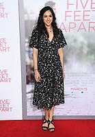 07 March 2019 - Westwood, California - Ariana Guerra. &quot;Five Feet Apart&quot; Los Angeles Premiere held at the Fox Bruin Theatre. <br /> CAP/ADM/BT<br /> &copy;BT/ADM/Capital Pictures