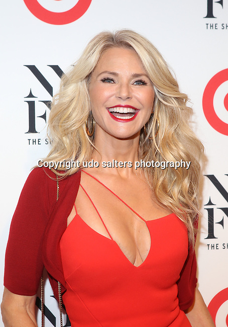 Model and Actress Christie Brinkley Attends Target and IMG   kick off New York Fashion Week: The Shows at The Park at Moynihan Station