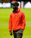Paul Pogba of Manchester United ahead of the UEFA Europa League Final at the Friends Arena, Stockholm. Picture date: May 23rd, 2017. Pic credit should read: Matt McNulty/Sportimage