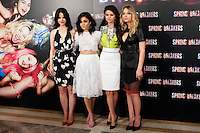 Selena Gomez, Vanessa Hudgens, Ashley Benson and Rachel Korine attends 'Spring Breakers' photocall at Villamagna Hotel in Madrid. February 21, 2013. (ALTERPHOTOS/Caro Marin) /NortePhoto