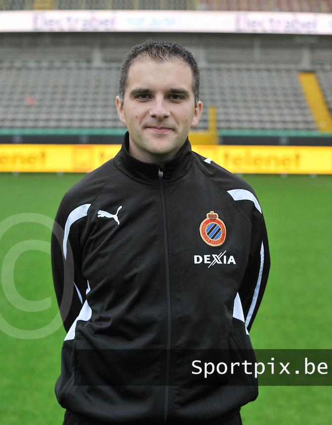 Club Brugge Dames : afgevaardigde Andy Deceuninck.foto VDB / BART VANDENBROUCKE