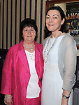 Patricia Barron and Mary Osborne pictured at Ettie Rogers's 90th birthday in the Glyde Inn Annagassan. Photo: Colin Bell/pressphotos.ie