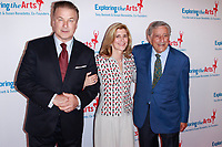 NEW YORK, NY - APRIL 12: Alec Baldwin  Susan Benedetto and Tony Bennett at the Exploring the Arts 20th Anniversary Gala at Hammerstien Ballroom  on April 12, 2019 in New York City. <br /> CAP/MPI99<br /> &copy;MPI99/Capital Pictures