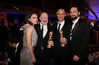 BEVERLY HILLS - JANUARY 6: (L-R) Keri Russel, Creator/EP/Writer Joe Weisberg, EP/Writer Joel Fields and Matthew Rhys attend the 2019 Fox Nominee Party for the 76th Annual Golden Globe Awards at the Fox Terrace on the Roof Deck of the Beverly Hilton on January 6, 2019, in Beverly Hills, California. (Photo by Frank Micelotta/Fox/PictureGroup)