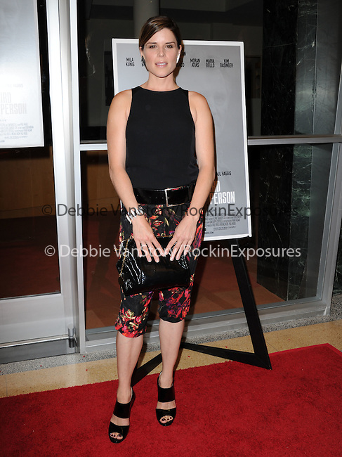 "Neve Campbell attends The Sony Picture Classics LA Premiere of ""THIRD PERSON"" held at The Pickford Center for Motion Picture Studio / Linwood Dunn Theatrein Hollywood, California on June 09,2014                                                                               © 2014 Hollywood Press Agency"