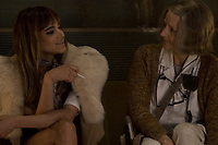 HOTEL ARTEMIS (2018)<br /> SOFIA BOUTELLA, JODIE FOSTERHOTEL ARTEMIS (2018)<br /> *Filmstill - Editorial Use Only*<br /> CAP/FB<br /> Image supplied by Capital Pictures