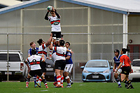 College Rugby - St Pat's Wellington v Scots College at Evans Bay, Wellington, New Zealand on Saturday 27 June 2020. <br /> Photo by Jo Hawes. <br /> www.photowellington.photoshelter.com