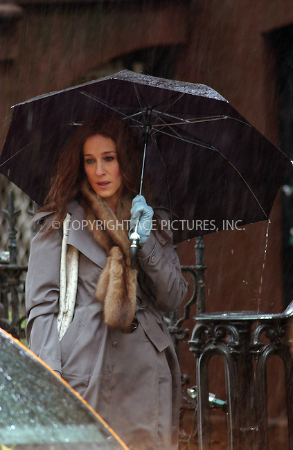 WWW.ACEPIXS.COM . . . . . ....November 16 2007, New York City....Actress Sarah Jessica Parker was on the set of the new 'Sex and the City' movie in the West Village area of Manhattan....Please byline: KRISTIN CALLAHAN - ACEPIXS.COM.. . . . . . ..Ace Pictures, Inc:  ..(646) 769 0430..e-mail: info@acepixs.com..web: http://www.acepixs.com