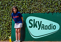 The Hague, Netherlands, 10 June, 2018, Tennis, Play-Offs Competition, Sky, ballgirl<br /> Photo: Henk Koster/tennisimages.com