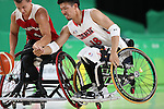 Hiroyuki Nagata (JPN),<br /> SEPTEMBER 11, 2016 - Wheelchair Basketball : <br /> Preliminary Round Group A<br /> match between Japan - Canada<br /> at Rio Olympic Arena<br /> during the Rio 2016 Paralympic Games in Rio de Janeiro, Brazil.<br /> (Photo by Shingo Ito/AFLO)