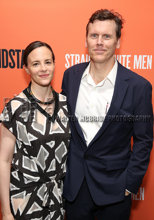Maria Dizzia and Will Eno attend the Opening Night Performance of 'Straight White Men' at the Hayes Theatre on July 23, 2018 in New York City.