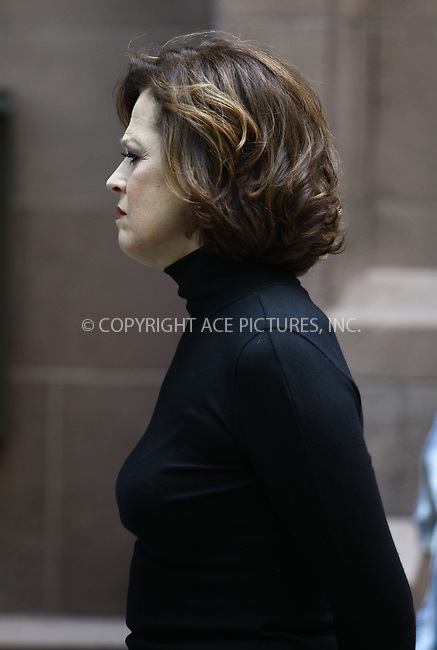 WWW.ACEPIXS.COM ************....June 15 2011, New York City....Sigourney Weaver on the set of the pilot espisode of HBO's  'Spring Fall' on June 15 2011 in New York City....Please byline: CURTIS MEANS - ACEPIXS.COM.. *** ***  ..Ace Pictures, Inc:  ..tel: (646) 769 0430..e-mail: info@acepixs.com..web: http://www.acepixs.com