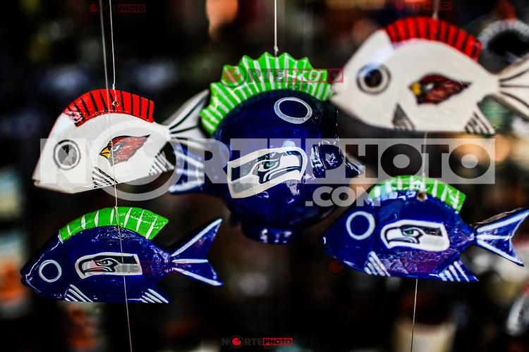 Ceramic fish.<br />