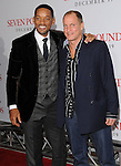 Will Smith and Woody Harrelson at the premiere of Seven Pounds held at Mann Village Theater Westwood, Ca. December 16, 2008