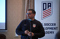 Greensboro, NC - April 06, 2018: 2018 Development Academy Spring Showcase meetingin Greensboro, NC.