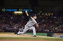 Masahiro Tanaka (Yankees), JULY 29, 2015 - MLB : New York Yankees starting pitcher Masahiro Tanaka throws the ball during a baseball game against the Texas Rangers at Globe Life Park in Arlington, Texas, United States. (Photo by AFLO)