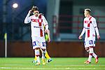 S&ouml;dert&auml;lje 2014-04-07 Fotboll Superettan Assyriska FF - Hammarby IF :  <br /> Assyriskas Fredrik Holster ser nedst&auml;md ut<br /> (Foto: Kenta J&ouml;nsson) Nyckelord:  Assyriska AFF S&ouml;dert&auml;lje Hammarby HIF Bajen depp besviken besvikelse sorg ledsen deppig nedst&auml;md uppgiven sad disappointment disappointed dejected