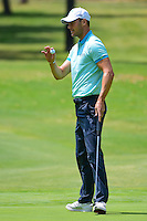 Martin Kaymer (DEU) after sinking his putt on 4 during round 3 of the World Golf Championships, Mexico, Club De Golf Chapultepec, Mexico City, Mexico. 3/4/2017.<br /> Picture: Golffile | Ken Murray<br /> <br /> <br /> All photo usage must carry mandatory copyright credit (&copy; Golffile | Ken Murray)