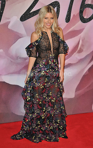 Mollie King at the Fashion Awards 2016, Royal Albert Hall, Kensington Gore, London, England, UK, on Monday 05 December 2016. <br /> CAP/CAN<br /> &copy;CAN/Capital Pictures /MediaPunch ***NORTH AND SOUTH AMERICAS ONLY***
