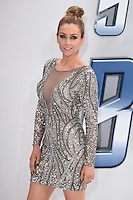"Gemma Merna<br /> arrives for the ""Star Trek Beyond"" premiere at the Empire Leicester Square, London.<br /> <br /> <br /> ©Ash Knotek  D3140  12/07/2016"