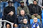 10.03.2019, Prezero-Arena, Sinsheim, GER, 1 FBL, TSG 1899 Hoffenheim vs 1. FC Nuernberg, <br /> <br /> DFL REGULATIONS PROHIBIT ANY USE OF PHOTOGRAPHS AS IMAGE SEQUENCES AND/OR QUASI-VIDEO.<br /> <br /> im Bild: Auf der Tribuene, links Florian Rudy (Bruder von Sebastian Rudy) mit rechts Lorenz-Guenther Koestner (Trainer)<br /> <br /> Foto &copy; nordphoto / Fabisch