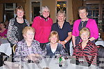 CHRISTMAS FUN: Member's of the Derryquay ICA having a great time at the Kery ICA Christmas dinner and dance at the Ballygarry House hotel on Sunday seated l-r; Hannah Mae Allman, Sheila Sayers and Marie O'Sullivan. Back l-r: Maura Byrne, Maureen Foley, Joan O'Sullivan and Bridget Keane.