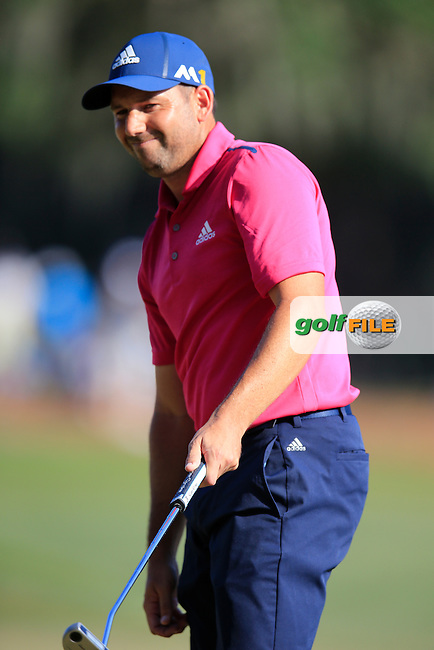 Sergio Garcia (ESP) during round 1of the Players, TPC Sawgrass, Championship Way, Ponte Vedra Beach, FL 32082, USA. 12/05/2016.<br /> Picture: Golffile | Fran Caffrey<br /> <br /> <br /> All photo usage must carry mandatory copyright credit (&copy; Golffile | Fran Caffrey)