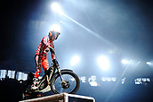 3rd February 2019, Palau Sant Jordi, Barcelona, Spain; FIM X Trial World Championships; Jeroni Fajardo of the Gas Gas Team in action during the Trial Barcelona