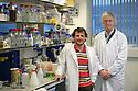 Dr Paul Duprex and Prof Bert Rima. Photo/Paul McErlane.