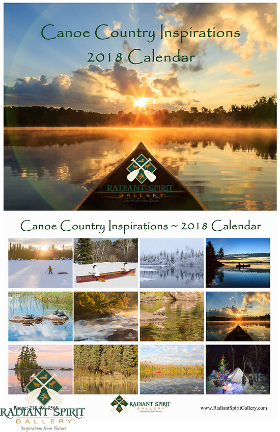 "Enjoy stunning photographs of the regions in all seasons. Includes holidays, special events, full/new moon phases, solstices, and full caption descriptions. Photographs were created by the award-winning husband and wife photography team of Gary L. Fiedler and Dawn M. LaPointe of Radiant Spirit Gallery. 12 month wall calendar measures 17"" x 11"" when hanging, 11"" x 8.5"" when folded; spiral bound and printed on heavy, glossy stock."