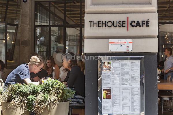 The House Cafe, Istiklal Street, Beyoglu District, Istanbul, Turkey  May 2015.<br /> CAP/MEL<br /> &copy;MEL/Capital Pictures /MediaPunch ***NORTH AND SOUTH AMERICA ONLY***
