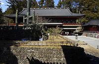 2000 year old Temple & grounds..Nikko, Tochigi Prefecture, Japan   April 2003                         .©F. Peirce Williams 2003..F. Peirce Williams .photography.P.O.Box 455 Eaton, OH 45320.p: 317.358.7326  e: fpwp@mac.com