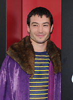 NEW YORK, NY - June 5: Ezra Miller attends 'Ocean's 8' World Premiere at Alice Tully Hall on June 5, 2018 in New York City. <br /> CAP/MPI/JP<br /> &copy;JP/MPI/Capital Pictures