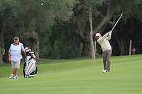 Paul McGinley (IRL) during the pro-am at the  Andalucía Masters at Club de Golf Valderrama, Sotogrande, Spain. .Picture Fran Caffrey www.golffile.ie