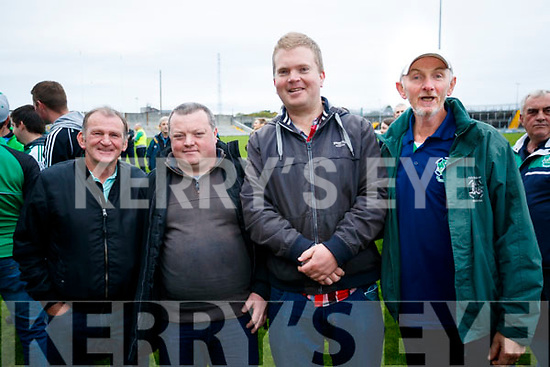 Pat Gorman, Thomas Mulvihill, Brendan Lynch and Jimmy Slattery Ballyduff after the Senior County Hurling Final in Austin Stack Park on Sunday